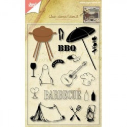 Joy Cut/stamp 6004/0004 Barbeque package
