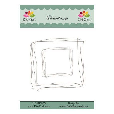 Dixi Craft ClearstampSTAMP0094 Butterfly & flowers