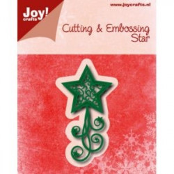 Joy Cut/Emb 6002/0769 Pine branches and Holly