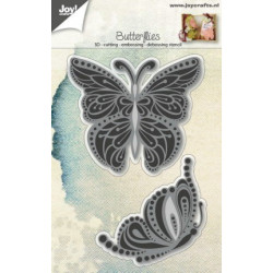 Joy Cut/Emb 6002/0692 Butterflies Gracefull