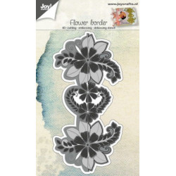 Joy Cut/Emb 6002/0691 Flower Border