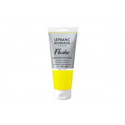 Flashe Acrylic Tube Lemon Yellow