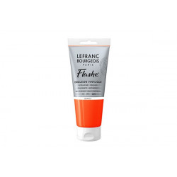 Flashe Acrylic Tube Orange