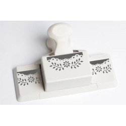 MS Floral Vinde deep edge trim punch