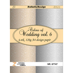 A4 ark 120g Colors of Wedding 6