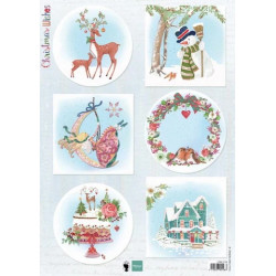 Christmas Wishes Deer EWK1280 Marianne Design