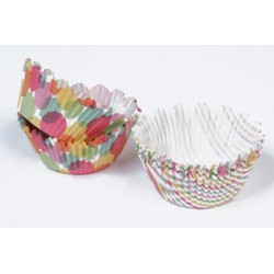 MS Modern Festive Cupcake Wrappers 48pcs