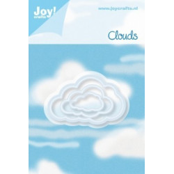 Joy Cut/Emb Clouds