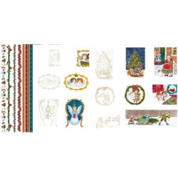 Parchment Paper Victorian Christmas Little Angels A4 (62589)