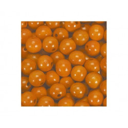 Træperler 5 mm orange