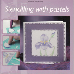 Stencilling with pastels (97361)