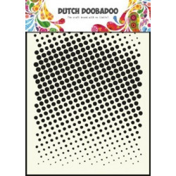 DDBD mask stebcil Faded dots