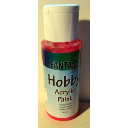 Hobby Acrylic Paint Crimson red