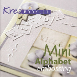 Mini Alphabet emboss Krea book