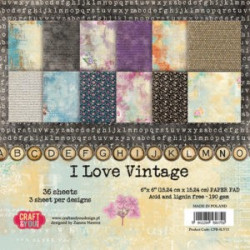 Craft & You Scrapbooking Ark 30x30 cm CP-BS01