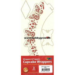 Cupcake Wrappers pink