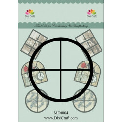 Dixi Craft Dies MD0009 flower Border