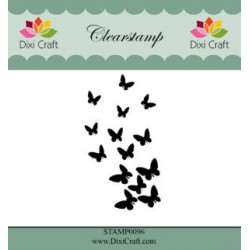 Dixi craft Tekst Stempel 50x27 mm.