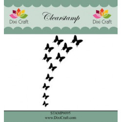 Dixi Craft ClearstampSTAMP0096 Butterfly Burst