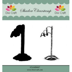 Dixi Craft Shadow Clearstamp STAMP0087 Golf