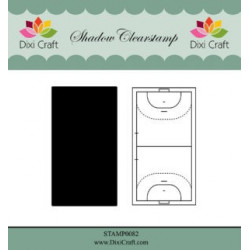 Dixi Craft Shadow Clearstamp STAMP0082 Handball