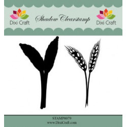 Dixi Craft Shadow Clearstamp STAMP0079 Flower 4